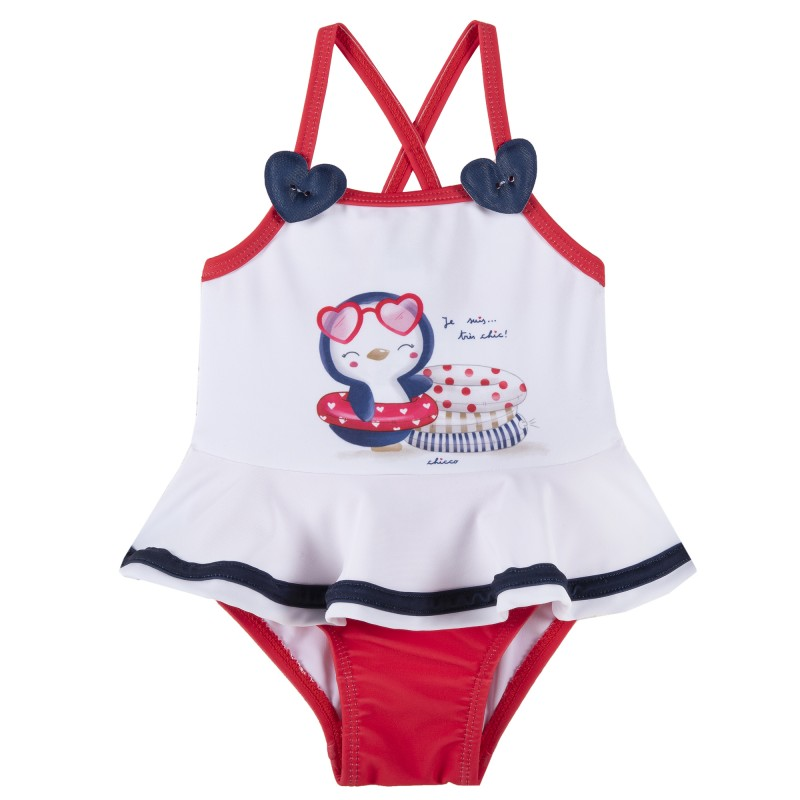 PENGUIN one piece swimsuit for babies