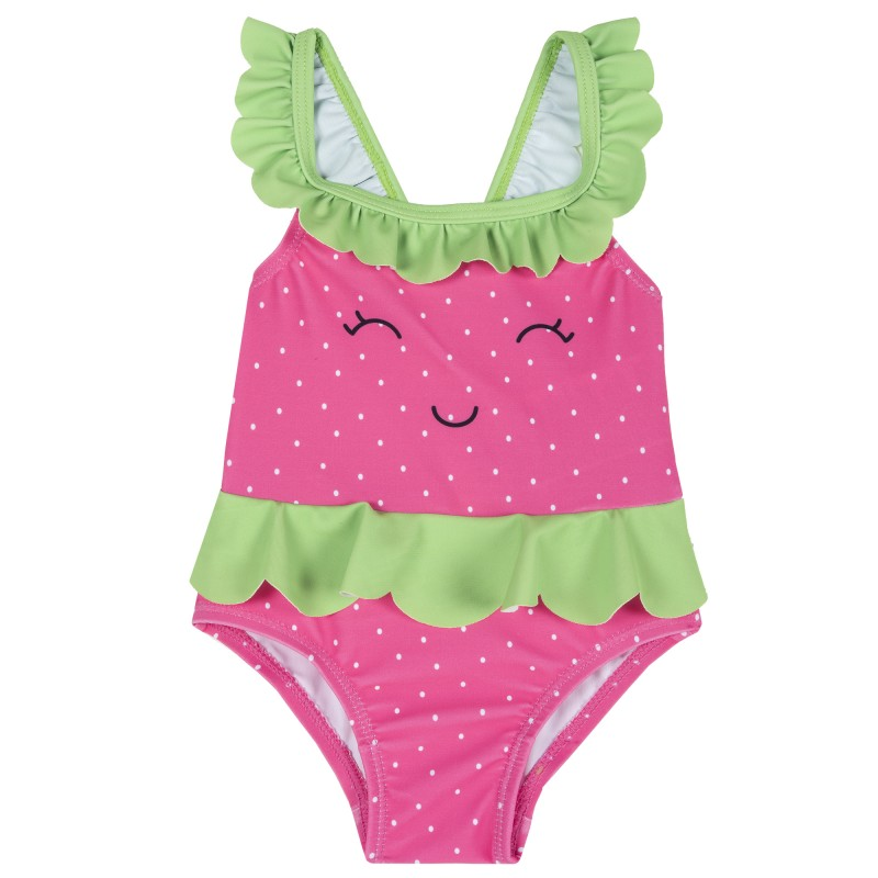 STRAWBERRY one piece swimsuit for babies