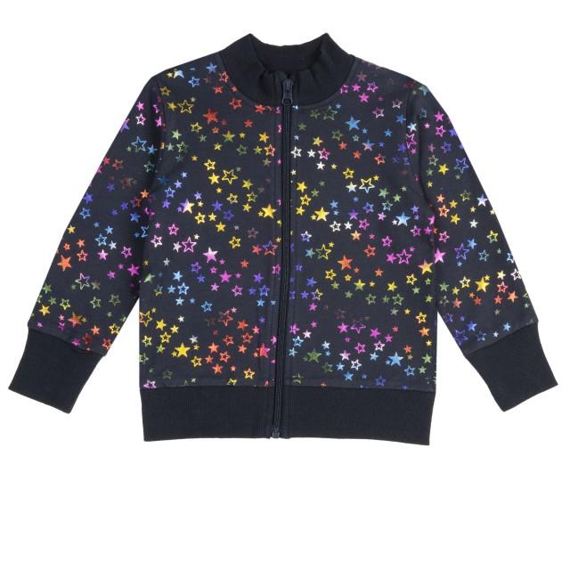 cotton cardigan with stars