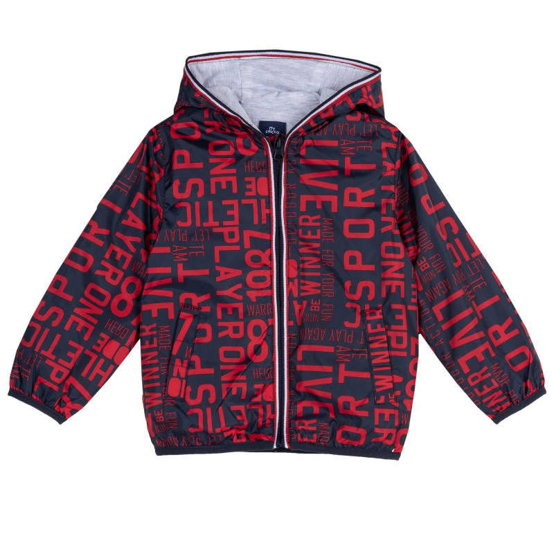 Summer jacket Red Letters by Chicco
