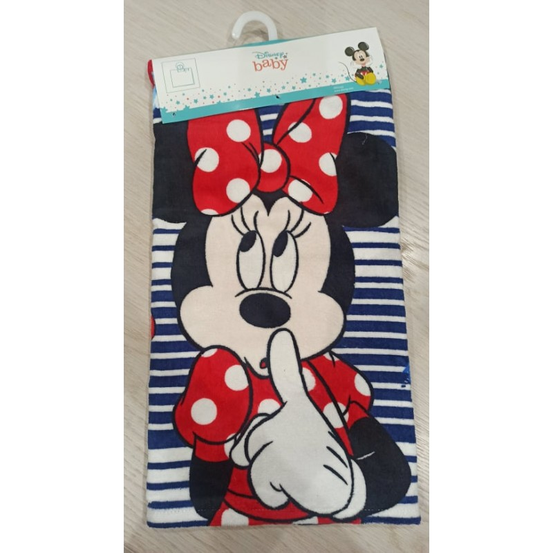 MINNIE MOUSE baby poncho towel