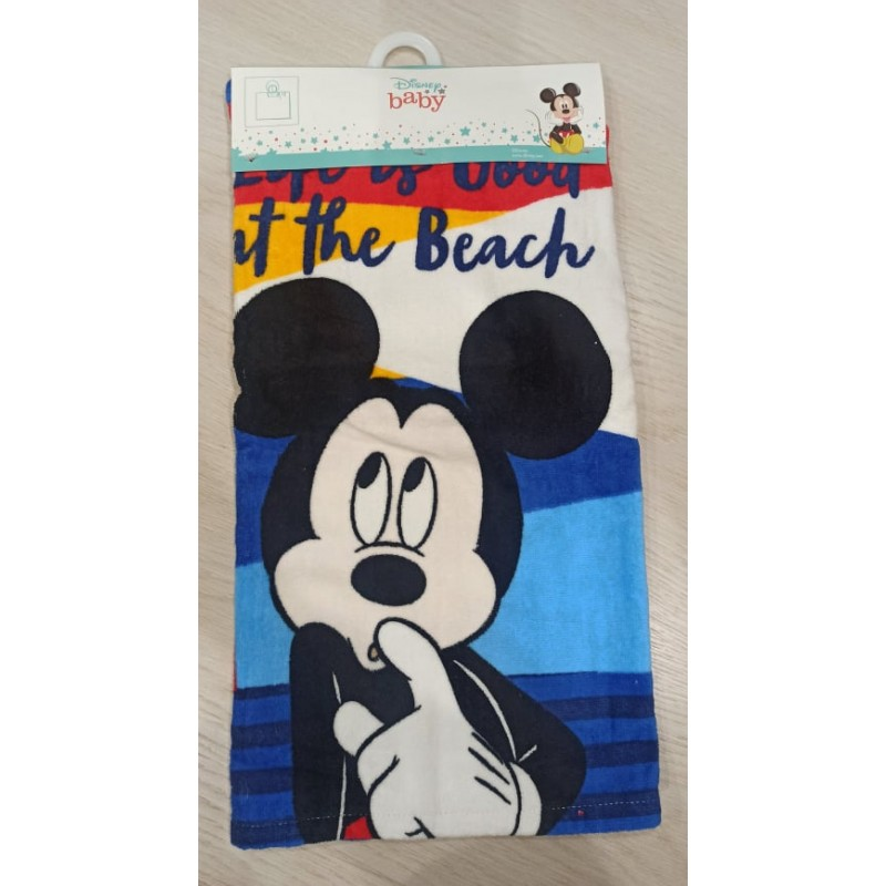MICKEY MOUSE baby poncho towel