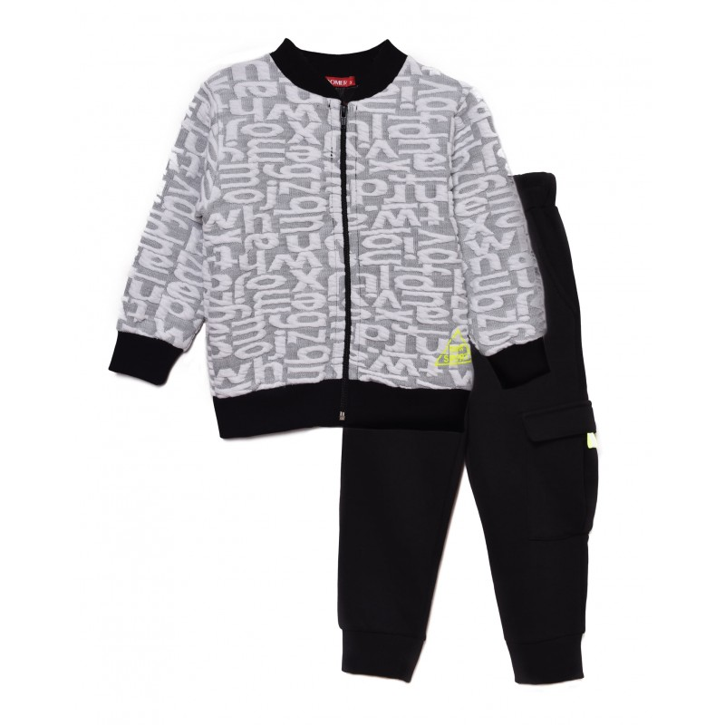 Set hoodie with zipper / pants
