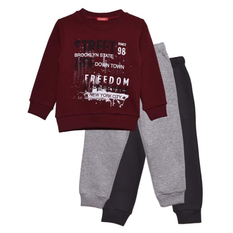 Set sweatshirt / two pants