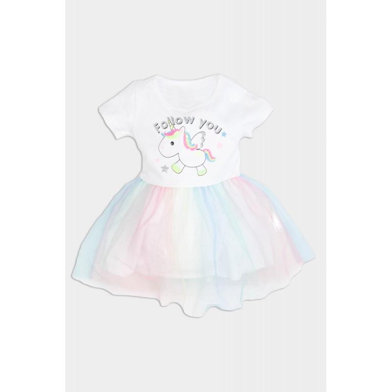 Unicorn tuille dress