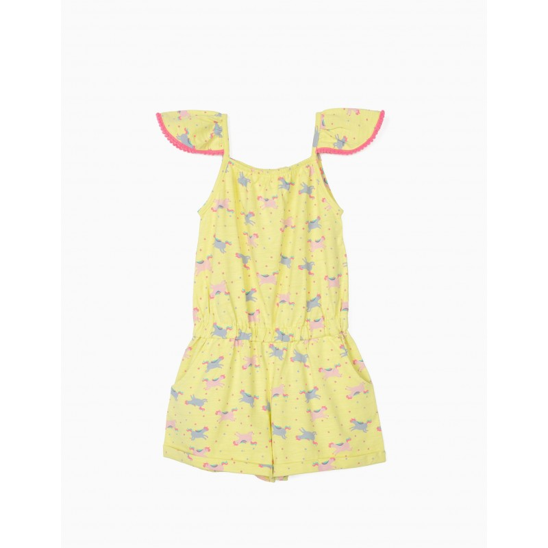 Cute Playsuit with Unicorns by Zippy