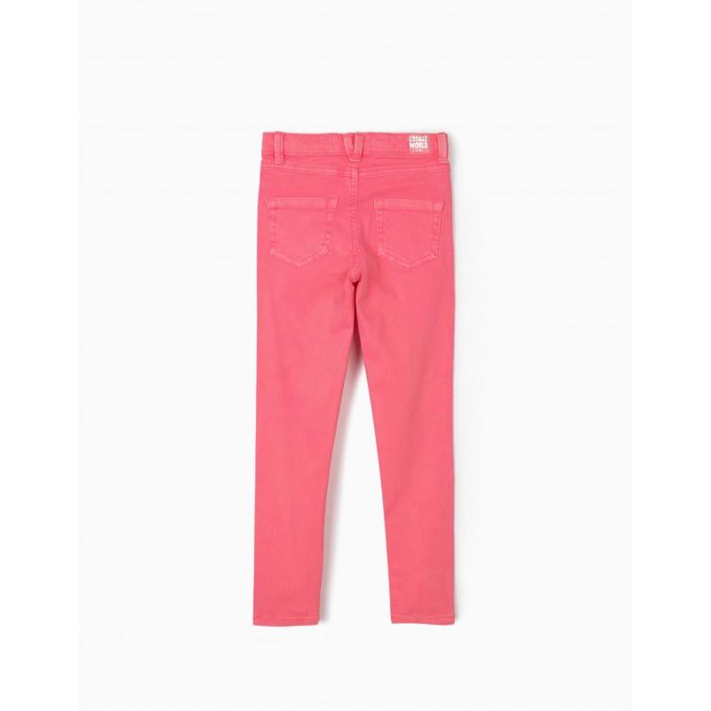 Fluo pink skinny jeans by Zippy